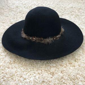 Anthropologie Floppy Brim Hat